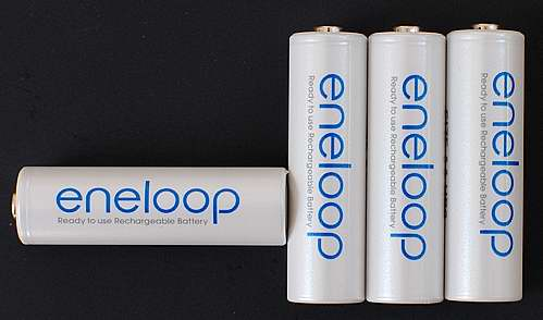 Eneloop rechargable batteries